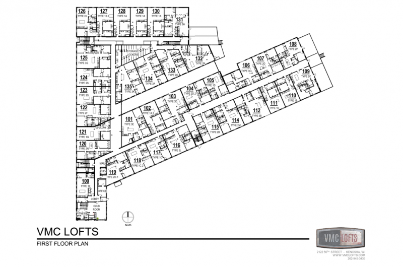 vmc lofts, kenosha apartments, loft apartments kenosha